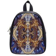 Baroque Fractal Pattern School Bags (small)