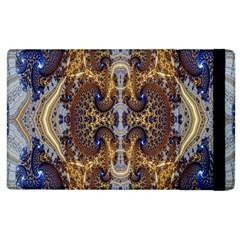 Baroque Fractal Pattern Apple Ipad 2 Flip Case by BangZart