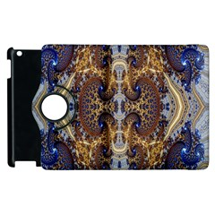 Baroque Fractal Pattern Apple Ipad 2 Flip 360 Case by BangZart