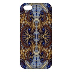 Baroque Fractal Pattern Apple Iphone 5 Premium Hardshell Case by BangZart