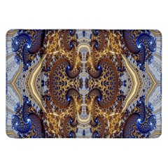 Baroque Fractal Pattern Samsung Galaxy Tab 8 9  P7300 Flip Case