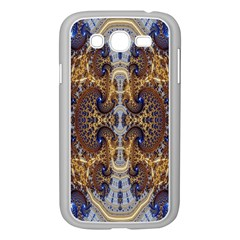Baroque Fractal Pattern Samsung Galaxy Grand Duos I9082 Case (white)