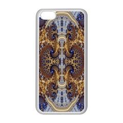 Baroque Fractal Pattern Apple Iphone 5c Seamless Case (white)