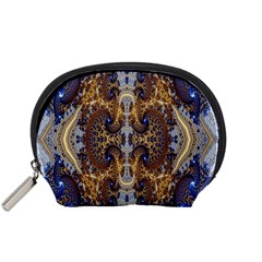 Baroque Fractal Pattern Accessory Pouches (small)  by BangZart