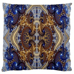 Baroque Fractal Pattern Standard Flano Cushion Case (two Sides) by BangZart