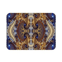 Baroque Fractal Pattern Double Sided Flano Blanket (mini)  by BangZart
