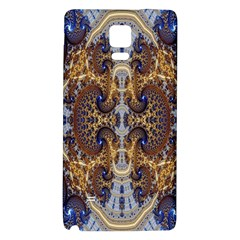 Baroque Fractal Pattern Galaxy Note 4 Back Case by BangZart