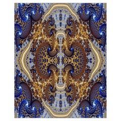 Baroque Fractal Pattern Drawstring Bag (small)