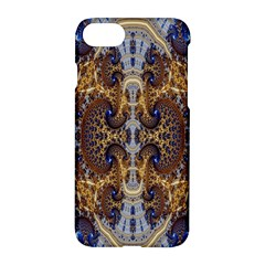 Baroque Fractal Pattern Apple Iphone 7 Hardshell Case