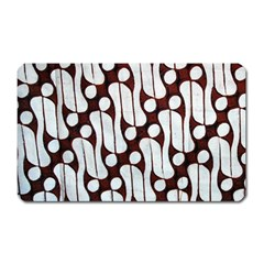 Batik Art Patterns Magnet (rectangular)