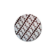 Batik Art Patterns Golf Ball Marker (4 Pack)