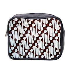 Batik Art Patterns Mini Toiletries Bag 2 Side