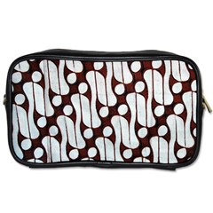 Batik Art Patterns Toiletries Bags 2 Side
