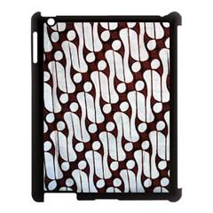 Batik Art Patterns Apple Ipad 3/4 Case (black) by BangZart