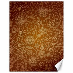 Batik Art Pattern Canvas 12  X 16
