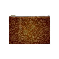 Batik Art Pattern Cosmetic Bag (medium)