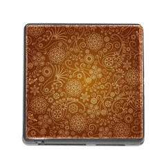 Batik Art Pattern Memory Card Reader (square)