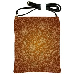 Batik Art Pattern Shoulder Sling Bags
