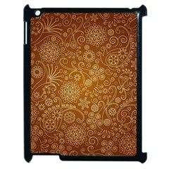 Batik Art Pattern Apple Ipad 2 Case (black) by BangZart