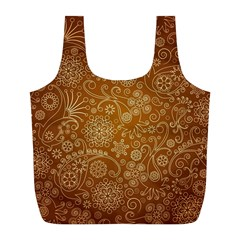 Batik Art Pattern Full Print Recycle Bags (l)  by BangZart