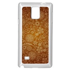 Batik Art Pattern Samsung Galaxy Note 4 Case (white)