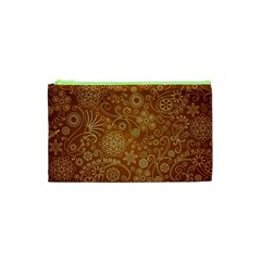 Batik Art Pattern Cosmetic Bag (xs) by BangZart