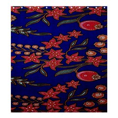 Batik  Fabric Shower Curtain 66  X 72  (large)  by BangZart