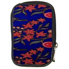 Batik  Fabric Compact Camera Cases by BangZart