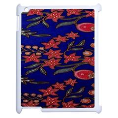 Batik  Fabric Apple Ipad 2 Case (white) by BangZart