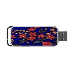 Batik  Fabric Portable Usb Flash (two Sides)