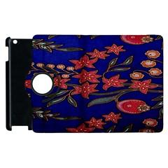 Batik  Fabric Apple Ipad 2 Flip 360 Case by BangZart