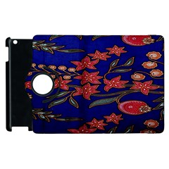 Batik  Fabric Apple Ipad 3/4 Flip 360 Case by BangZart