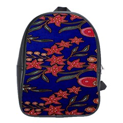 Batik  Fabric School Bags (xl)  by BangZart