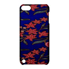 Batik  Fabric Apple Ipod Touch 5 Hardshell Case With Stand by BangZart