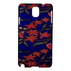 Batik  Fabric Samsung Galaxy Note 3 N9005 Hardshell Case