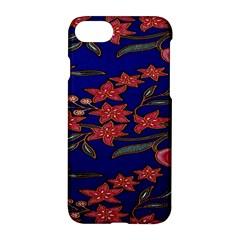 Batik  Fabric Apple Iphone 7 Hardshell Case by BangZart