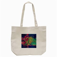 Background Colorful Bugs Tote Bag (cream) by BangZart