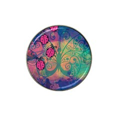 Background Colorful Bugs Hat Clip Ball Marker by BangZart