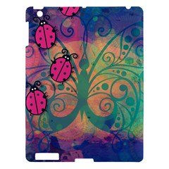 Background Colorful Bugs Apple Ipad 3/4 Hardshell Case