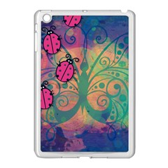 Background Colorful Bugs Apple Ipad Mini Case (white) by BangZart