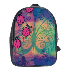 Background Colorful Bugs School Bags (xl)  by BangZart