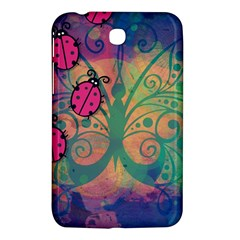 Background Colorful Bugs Samsung Galaxy Tab 3 (7 ) P3200 Hardshell Case  by BangZart