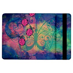 Background Colorful Bugs Ipad Air Flip