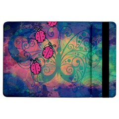 Background Colorful Bugs Ipad Air 2 Flip by BangZart