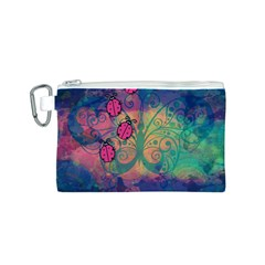 Background Colorful Bugs Canvas Cosmetic Bag (s) by BangZart