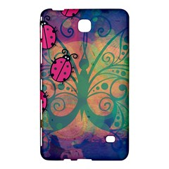 Background Colorful Bugs Samsung Galaxy Tab 4 (7 ) Hardshell Case