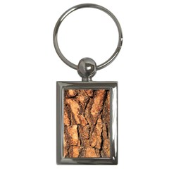 Bark Texture Wood Large Rough Red Wood Outside California Key Chains (rectangle)  by BangZart