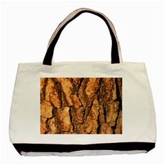 Bark Texture Wood Large Rough Red Wood Outside California Basic Tote Bag
