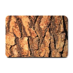 Bark Texture Wood Large Rough Red Wood Outside California Small Doormat