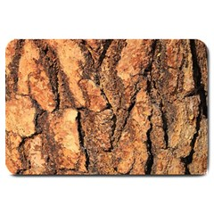Bark Texture Wood Large Rough Red Wood Outside California Large Doormat  by BangZart